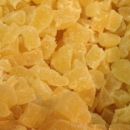 ananas cubes 250g