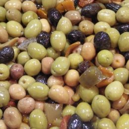 olives mixtes douces 250g