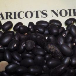 haricots secs noirs 250g
