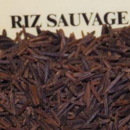 riz sauvage 100g