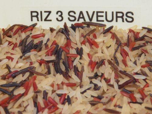 riz 3 saveurs 250g