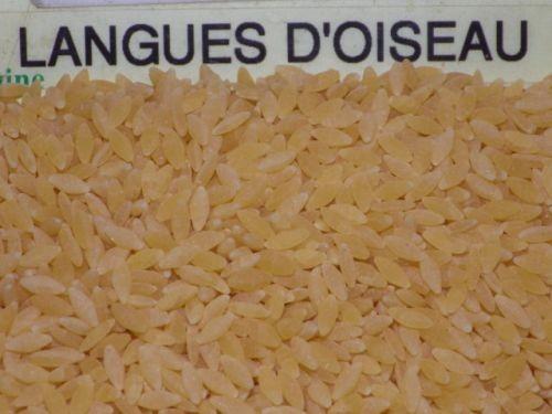 pâtes langues oiseaux 250g