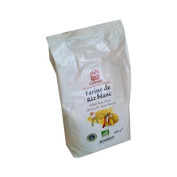 farine riz blanche
