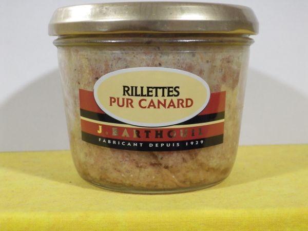 rillettes canard
