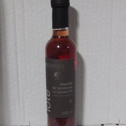 vinaigre vin échalotes