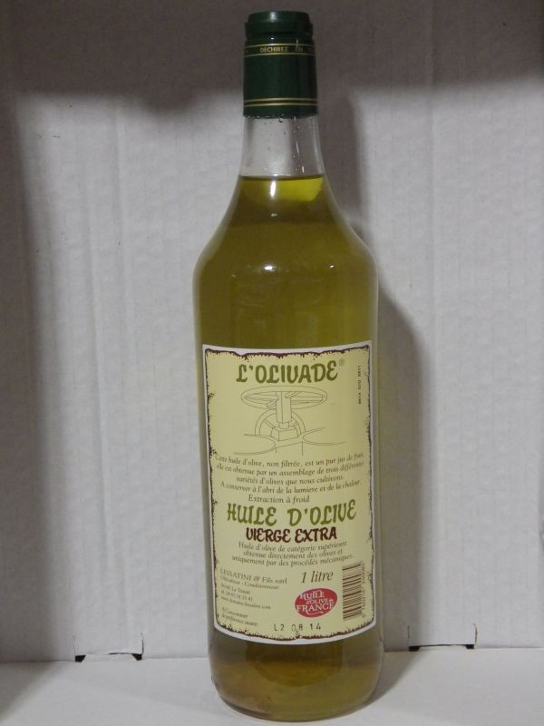 huile olive de Nice
