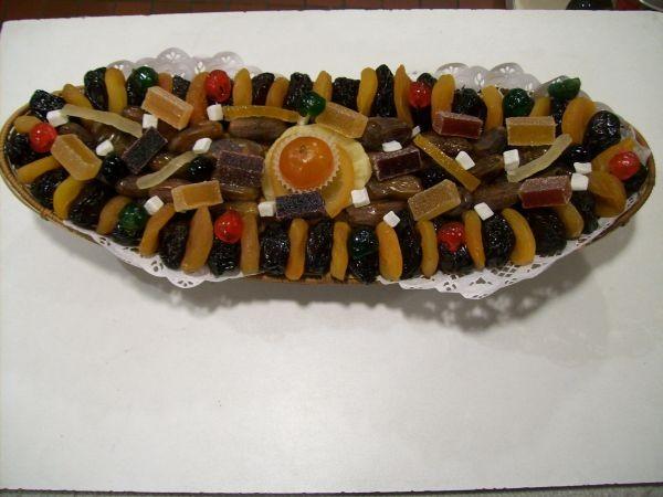corbeilles de fruits secs