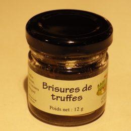 truffes brisures