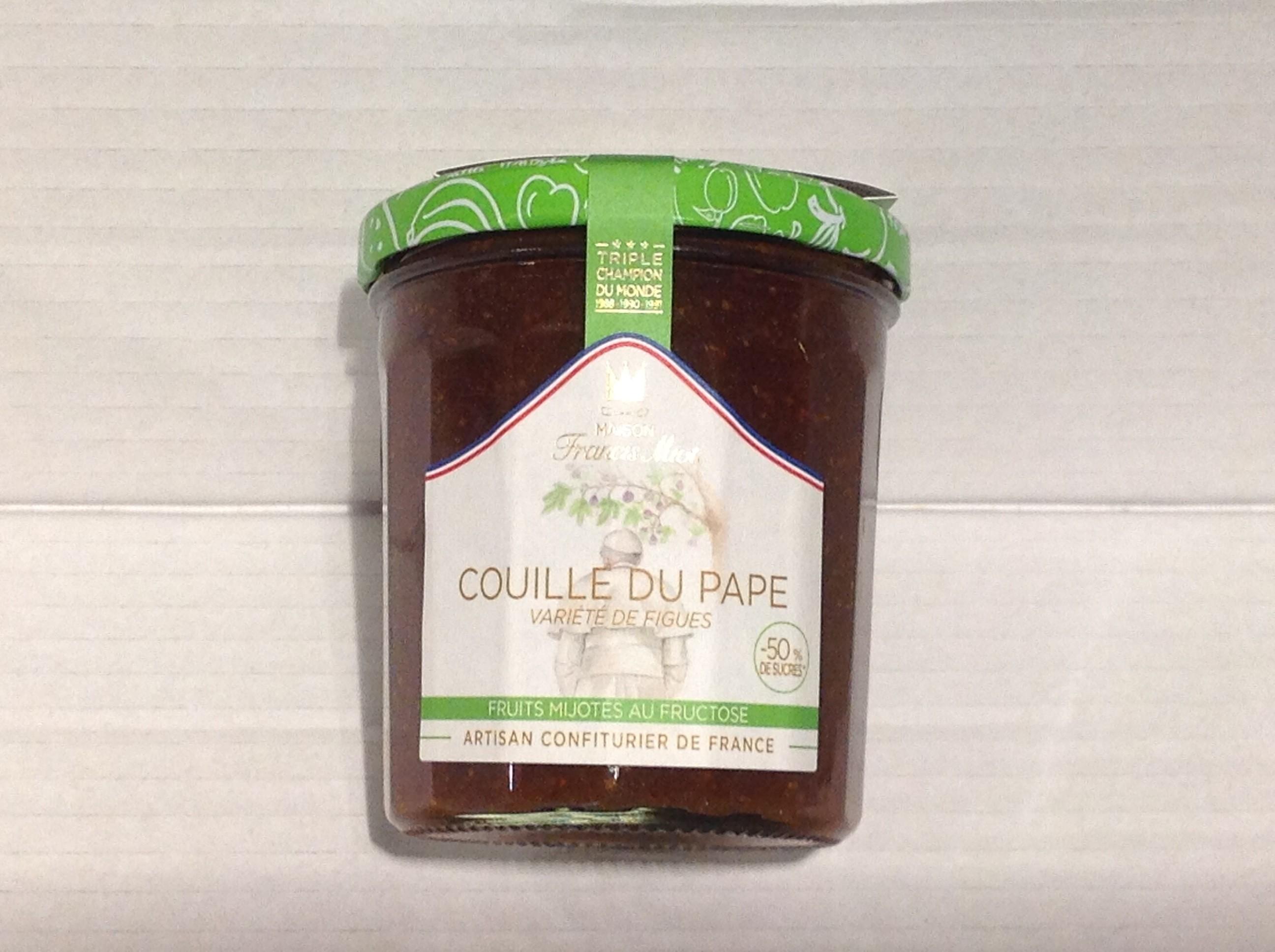 confiture allégée sucre couille du pape ( figues)